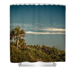 Morris Island Light Charleston Sc Shower Curtain