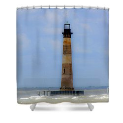 Sand Sea And Whimsey Shower Curtain by Dale Powell