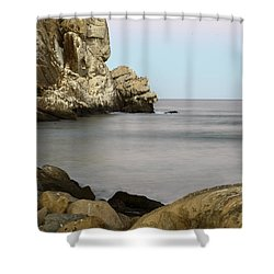 Morro Bay Morning 2 Shower Curtain