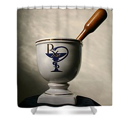 Mortar And Pestle Two Shower Curtain