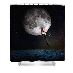 Morte Di Un Sogno - Dying Dream Shower Curtain