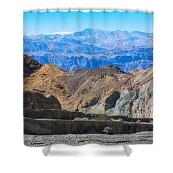 Mosaic Canyon Picnic Shower Curtain by Stuart Litoff
