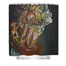 Mosaic Embrace Shower Curtain
