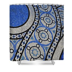 Mosaic Perspective 2 Shower Curtain by Tony Rubino