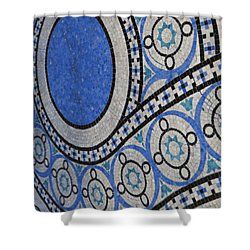 Mosaic Perspective Shower Curtain by Tony Rubino