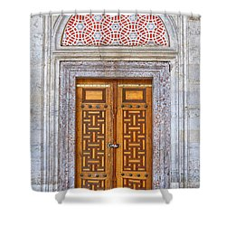 Mosque Doors 04 Shower Curtain