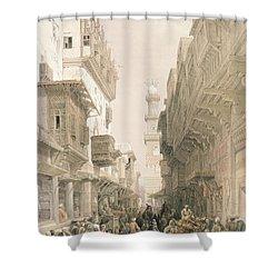 Mosque El Mooristan Shower Curtain by David Roberts
