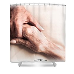 Mother And Daughter Shower Curtain