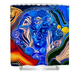Mother Earth Shower Curtain by Omaste Witkowski