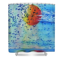 Mother Nature At Her Best  Shower Curtain by Chrisann Ellis
