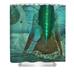Mother Nature Shower Curtain by Michael Rucker