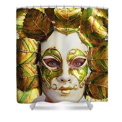 Mother Nature Shower Curtain by Ramona Johnston