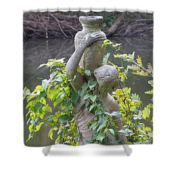 Shower Curtain featuring the photograph Mother Natures Embrace by John Glass