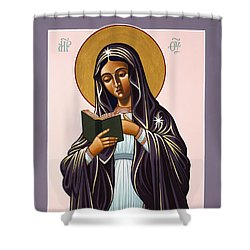 Mother Of The Incarnate Word 071 Shower Curtain