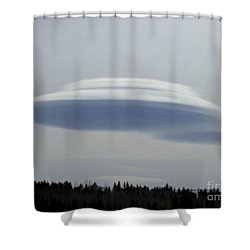 Shower Curtain featuring the photograph Mother Ship by Fiona Kennard