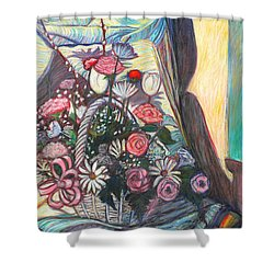 Mothers Day Gift Shower Curtain by Kendall Kessler