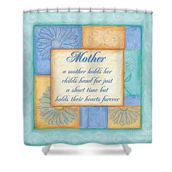 Mother's Day Spa Shower Curtain by Debbie DeWitt