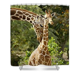 Mothers' Love Shower Curtain by Swank Photography