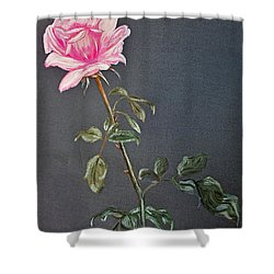 Mothers Rose Shower Curtain