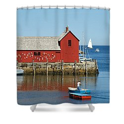 Rockport's Motif #1 Shower Curtain