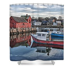 Motif 1 Sky Reflections Shower Curtain