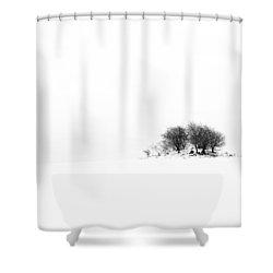 Mound Shower Curtain by Gert Lavsen