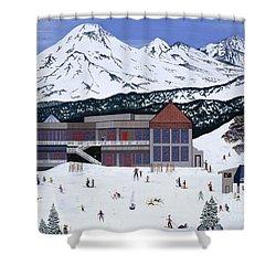 Mount Bachelor Shower Curtain