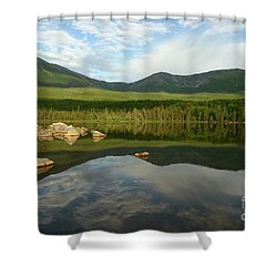 Shower Curtain featuring the photograph Mount Katahdin by Jeannette Hunt