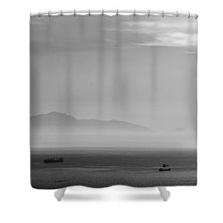 Mount Olympus Greece Shower Curtain by Sotiris Filippou
