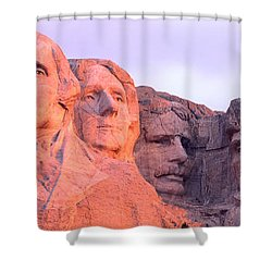 Mount Rushmore, South Dakota, Usa Shower Curtain by Panoramic Images