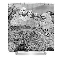 Mount Rushmore South Dakota Usa Shower Curtain