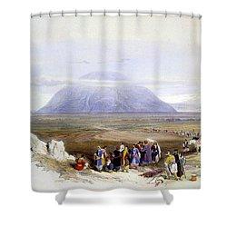 Mount Tabor Shower Curtain