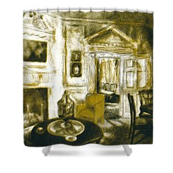 Mount Vernon Ambiance Shower Curtain by Kendall Kessler