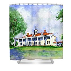 Mount Vernon Front Shower Curtain