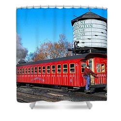 Mount Washington Cog Railway Car 6 Shower Curtain