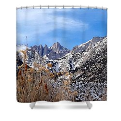 Mount Whitney - California Shower Curtain