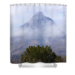 Mountain Cloaked Shower Curtain