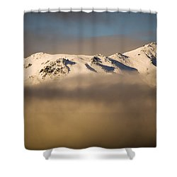 Mountain Cloud Shower Curtain by Tim Hester