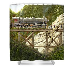 Mountain Impasse Shower Curtain