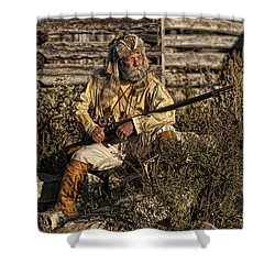 Mountain Man Shower Curtain