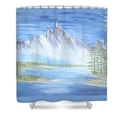 Mountain Mist 2 Shower Curtain