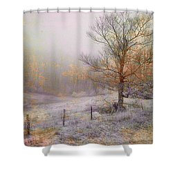 Mountain Mist II Shower Curtain