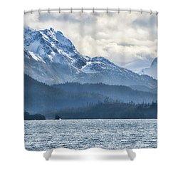 Mountain Mist Shower Curtain