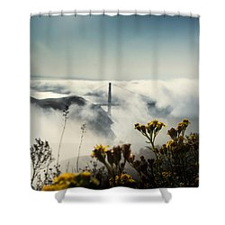 Mountain Of Dreams Shower Curtain