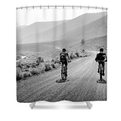 Mountain Riders Shower Curtain
