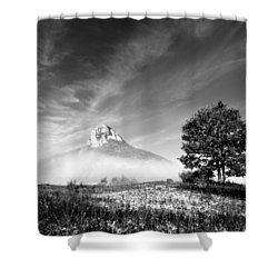 Mountain Zir Shower Curtain