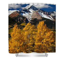 Mountainous Wonders Shower Curtain by Darren  White