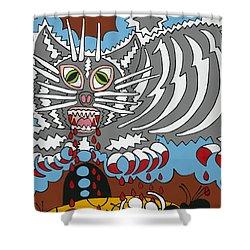 Mouse Dream Shower Curtain by Rojax Art