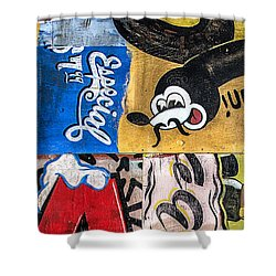 Moustache Especial Shower Curtain by Terry Rowe