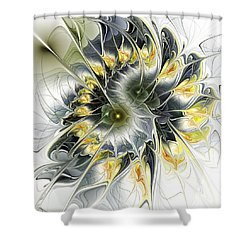 Movement Shower Curtain by Anastasiya Malakhova